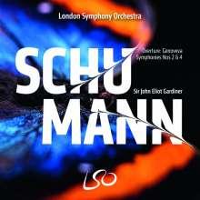Robert Schumann (1810-1856): Symphonien Nr.2 & 4, Super Audio CD