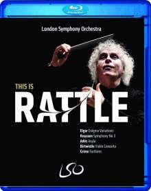Simon Rattle - This is Rattle, 1 Blu-ray Disc und 1 DVD