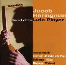Jacob Heringman - The Art of the Lute Player, CD