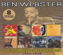 Ben Webster (1909-1973): The Complete Recordings: 1952 - 1959, 4 CDs