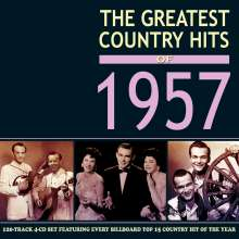 The Greatest Country Hits Of 1957, 4 CDs