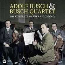 Adolf Busch & Busch Quartet, 16 CDs