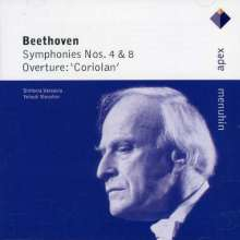Ludwig van Beethoven (1770-1827): Symphonien Nr.4 & 8, CD