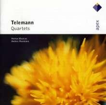 Georg Philipp Telemann (1681-1767): 3 Quartette, CD