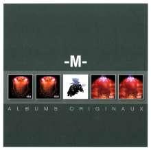M (Mathieu Chedid): Original Album Series, 5 CDs