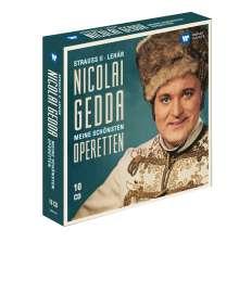 Nicolai Gedda - Meine schönsten Operetten (5 Gesamtaufnahmen), 10 CDs