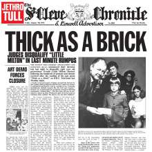 Jethro Tull: Thick As A Brick (180g) (Limited Edition) (Steven Wilson Stereo Mix), LP