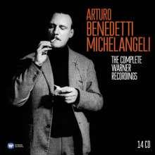Arturo Benedetti Michelangeli - The Complete Warner Recordings, 14 CDs