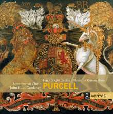 """Henry Purcell (1659-1695): Ode for the Birthday of Queen Mary """"Hail! Bright Cecilia"""", 2 CDs"""