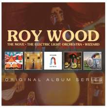 Roy Wood: Original Album Series, 5 CDs