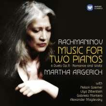 Sergej Rachmaninoff (1873-1943): Sämtliche Werke für 2 Klaviere, 2 CDs