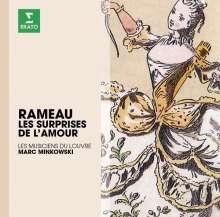 Jean Philippe Rameau (1683-1764): Les Surprises de l'Amour, CD