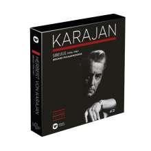 Herbert von Karajan Edition 8 - Jean Sibelius 1976-1981, 4 CDs