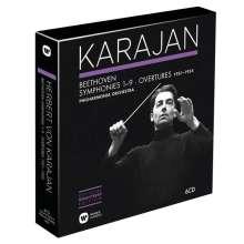 Herbert von Karajan Edition 2 - Beethoven 1951-1955, 6 CDs