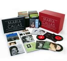 Maria Callas Remastered - Sämtliche Studioaufnahmen, 69 CDs und 1 CD-ROM