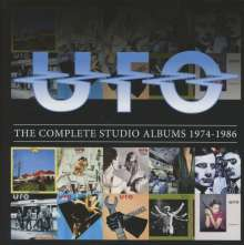 UFO: The Complete Studio Albums 1974 - 1986, 10 CDs