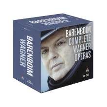 Richard Wagner (1813-1883): Daniel Barenboim - Complete Wagner Operas, 34 CDs