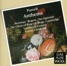 Henry Purcell (1659-1695): Anthems, CD