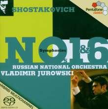 Dmitri Schostakowitsch (1906-1975): Symphonien Nr.1 & 6, Super Audio CD