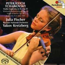 Peter Iljitsch Tschaikowsky (1840-1893): Violinkonzert op.35, Super Audio CD