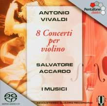 Antonio Vivaldi (1678-1741): Violinkonzerte RV 188,285a,294a,299,326,354,373,374, Super Audio CD