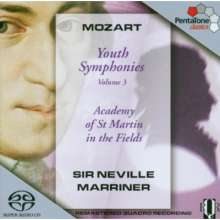 Wolfgang Amadeus Mozart (1756-1791): Symphonien Nr.7-9,19, Super Audio CD