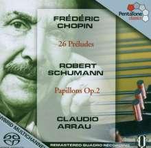 Frederic Chopin (1810-1849): Preludes Nr.1-26, Super Audio CD