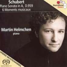 Franz Schubert (1797-1828): Klaviersonate D.959, Super Audio CD