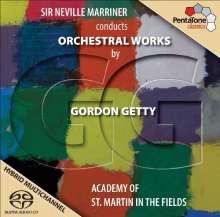 Gordon Getty (geb. 1933): Orchesterwerke, Super Audio CD