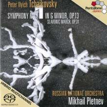 Peter Iljitsch Tschaikowsky (1840-1893): Symphonie Nr.1, Super Audio CD