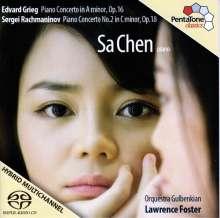 Sa Chen spielt Klavierkonzerte, Super Audio CD