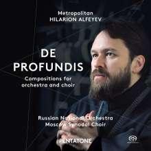 Hilarion Alfeyev (geb. 1966): De Profundis, Super Audio CD