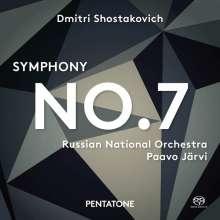 """Dmitri Schostakowitsch (1906-1975): Symphonie Nr.7 """"Leningrad"""", Super Audio CD"""