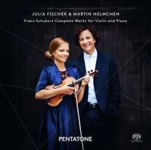 Franz Schubert (1797-1828): Sämtliche Werke für Violine & Klavier, 2 Super Audio CDs