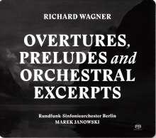 Richard Wagner (1813-1883): Orchesterstücke, 2 Super Audio CDs