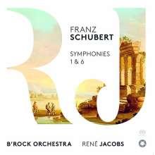 Franz Schubert (1797-1828): Symphonien Nr.1 & 6, Super Audio CD