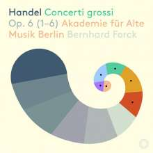 Georg Friedrich Händel (1685-1759): Concerti grossi op.6 Nr.1-6, Super Audio CD