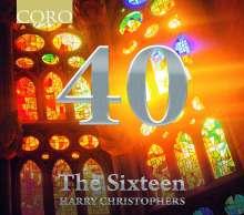 The Sixteen - 40, 2 CDs