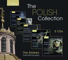 The Sixteen - The Polish Collection, 5 CDs