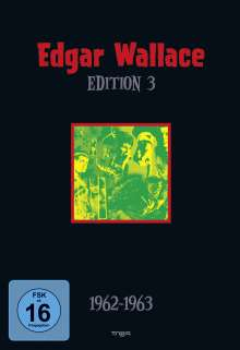 Edgar Wallace Edition 3, 4 DVDs