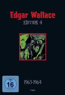 Edgar Wallace Edition 4, 4 DVDs