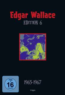 Edgar Wallace Edition 6, 4 DVDs