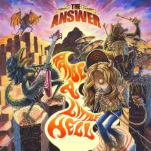 The Answer: Raise A Little Hell (Limited Edition), 2 LPs