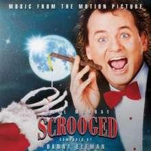 Danny Elfman (geb. 1953): Filmmusik: Scrooged (Clear with Cigar Smoke Swirl Vinyl), LP