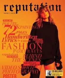 Taylor Swift: Reputation (Special-Edition Vol. 1) (Orange), 1 CD und 1 Zeitschrift