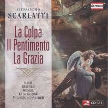 Alessandro Scarlatti (1660-1725): La Colpa il Pentimento la Grazia (Oratorium), 2 CDs