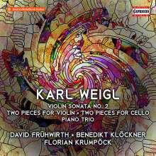 Karl Weigl (1881-1949): Violinsonate Nr.2, CD