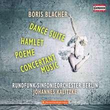 Boris Blacher (1903-1975): Tanz Suite, CD
