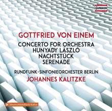 Gottfried von Einem (1918-1996): Konzert für Orchester op.4, CD