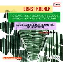 "Ernst Krenek (1900-1991): Symphonie ""Pallas Athene"" op.137, CD"
